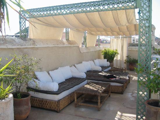 Riad Vert Marrakech: The roof