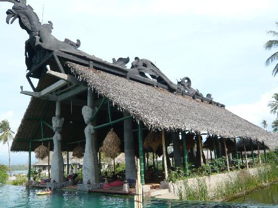 Hotel Tugu Lombok: The main restaurant
