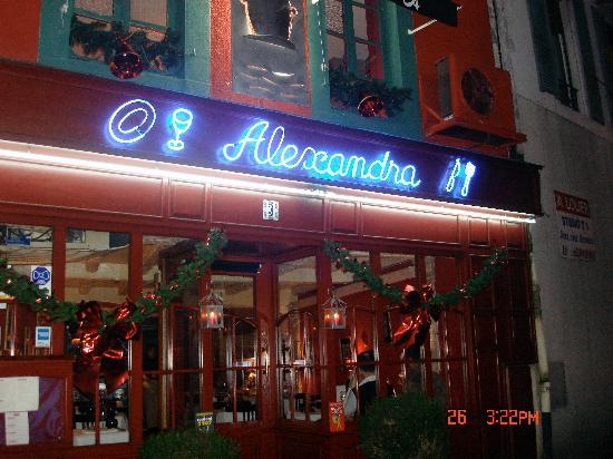 Restaurant Alexandra : Alexandra