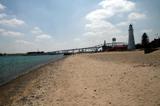 Port Huron, MI: Blue Water Bridge #2 (with Lighthouse)