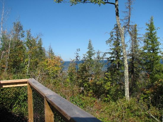 Union Bay Campground: View from Yurt