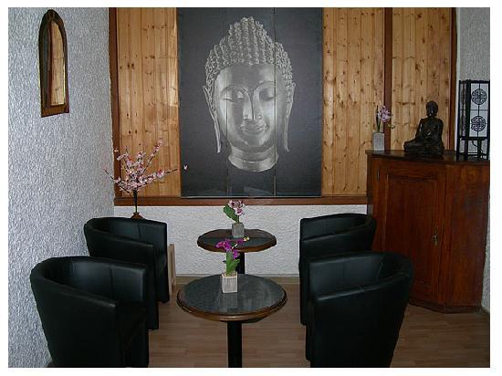 Hotel La Chaumiere : le salon