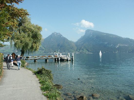 Gasthof Bellerive : Tolle Spazierwege am See