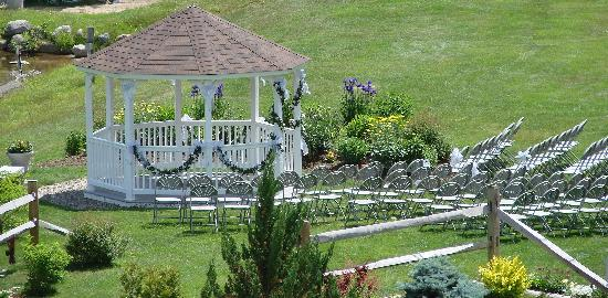 Indian Head Resort: Gazebo