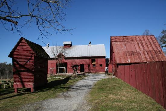 Carl Sandburg Home National Historic Site: Carl Sandburg Home NHS- barn