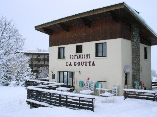 La Goutta : Le chalet avec terrasse!
