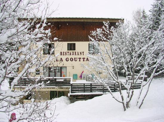 La Goutta : quelle neige!