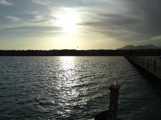 lti Tropicana Grand Azure: sea evening again