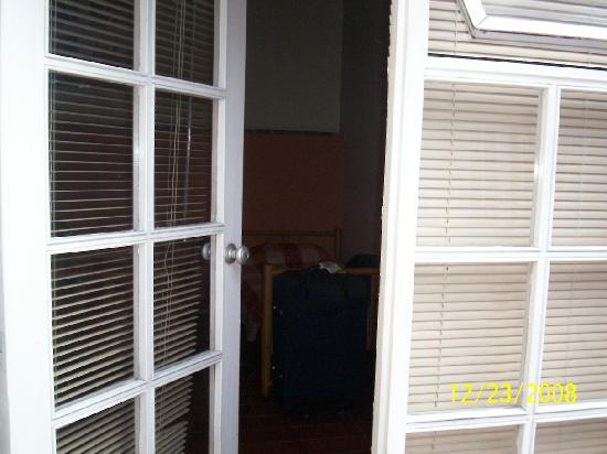 Casona del Patio: room's entrance
