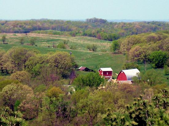 Spring Green, WI: Rooftop View