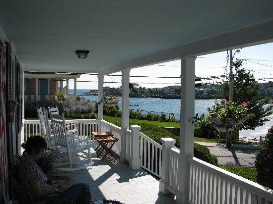Beach & King Street Inn: View from the deck of the Beach+King Inn