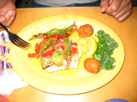 Montego Bay Seafood House: Baked Cod