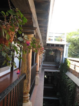 Entre Volcanes: Balcony/ courtyard