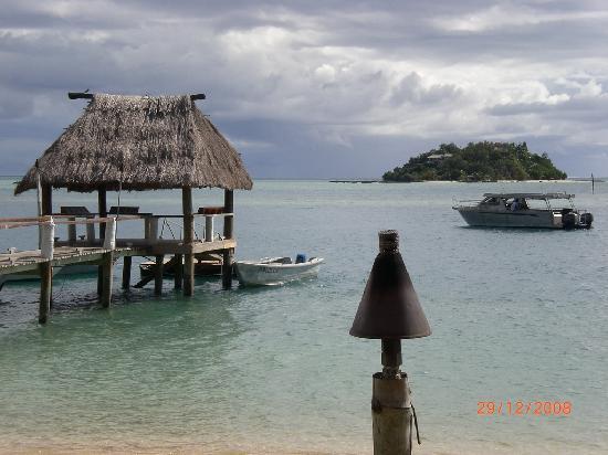 Malolo Island Resort: The jetty