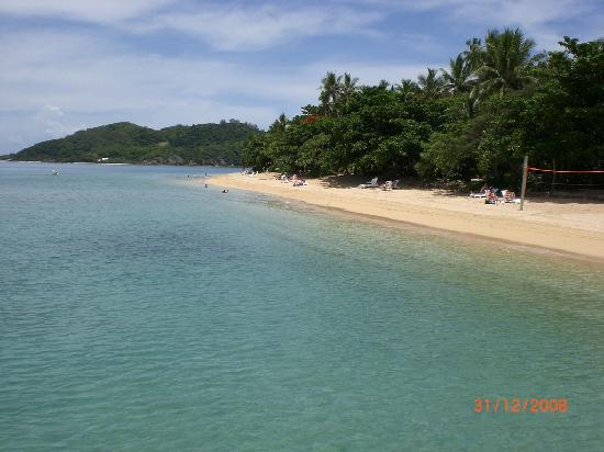 Malolo Island Resort: The lovely clear water