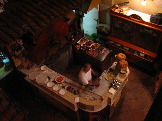 Sacro e Profano: Pizzaiolo en pleine action