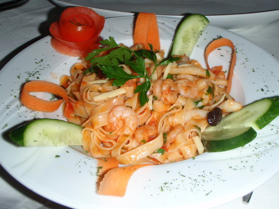 Amedros Cafe & Restaurant: Seafood Pasta