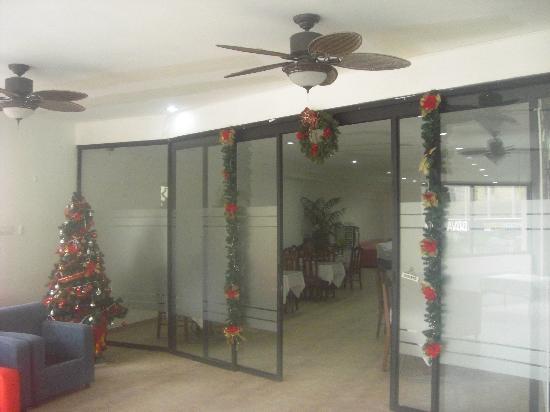 Andino Hotel: Restaurant Entrance