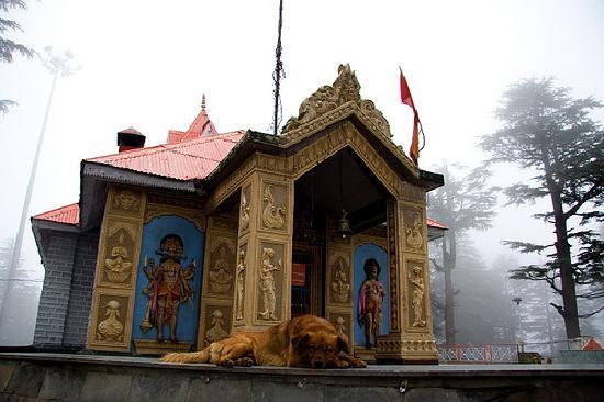 Jakhu Temple: Main temple