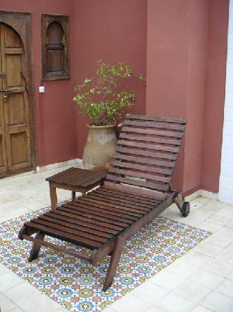 Riad Al Mansoura: terasse