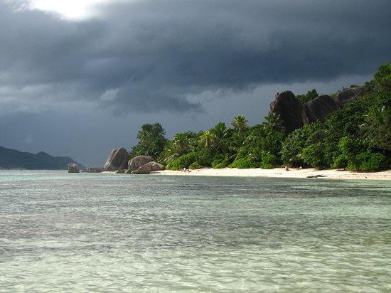 Seychelles,La Digue,..Source d'Argent