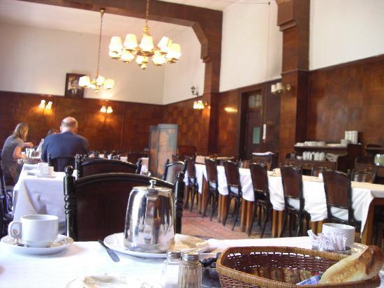 Baron Hotel: Breakfast room