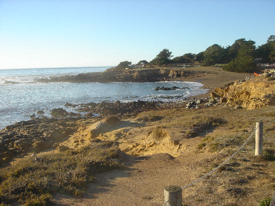 White Water Inn: beach across from WWI