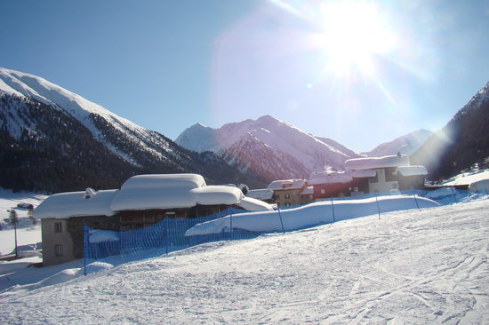 Livigno, Italy: snow snow and more snow