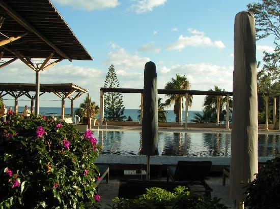 Columbia Beach Resort Pissouri: View of Pool (New Year's Eve 2008)