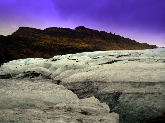 Myrdalsjokull Glacier