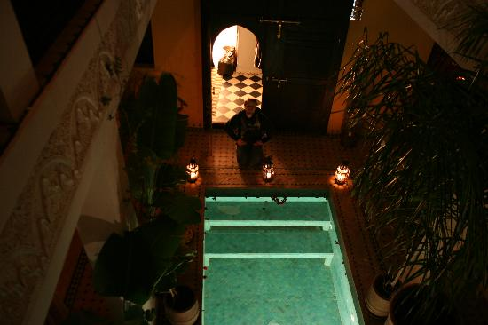 Riad Aguaviva: entrada habitación