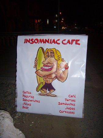 Insomniac Restaurant Pizzeria: Insomniac Cafe