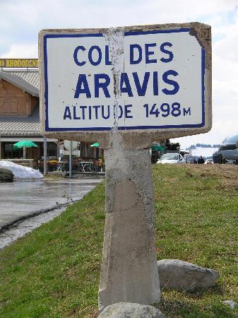 La Residence: On y est - au Col des Aravis