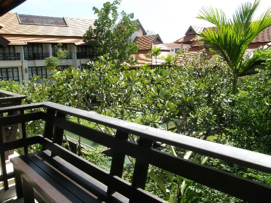 Bodhi Serene Hotel: View from the balcony