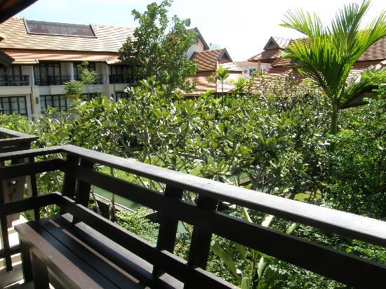 โรงแรมโพธิ ศิรีนทร์: View from the balcony