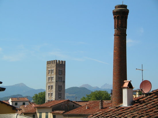 Ville médievale de Lucca