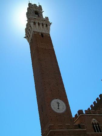 Siena, Italy: Sienne - Un minaret - un clocher !!!