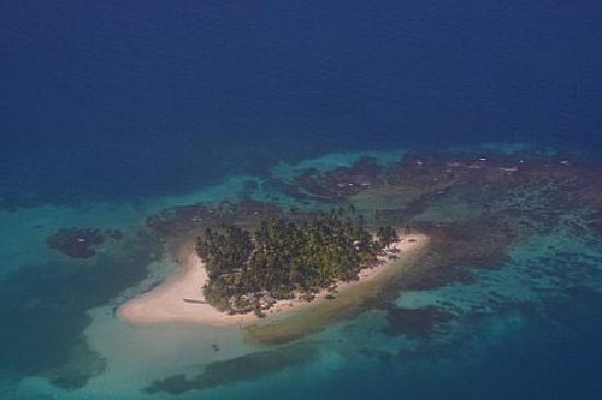 Islas San Blas, Panamá: Island from above