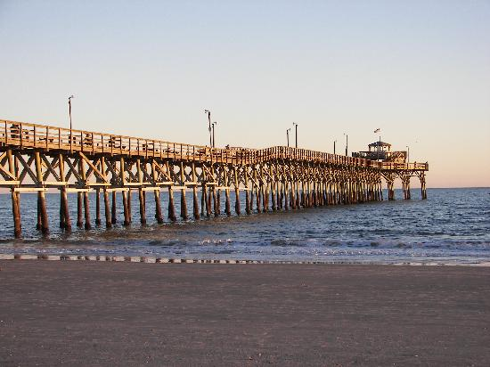 cherry grove fishing pier picture of wyndham ocean