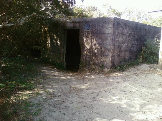 Fort Fisher State Recreation Area: Bunker