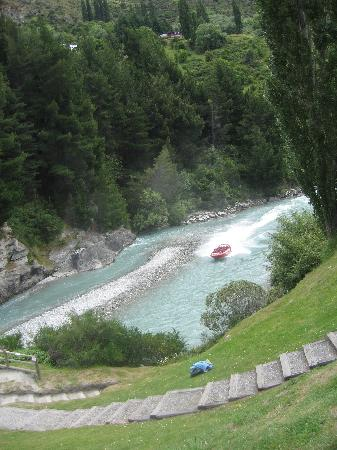 Queenstown, Nova Zelândia: Shot Over Canyon jet boating