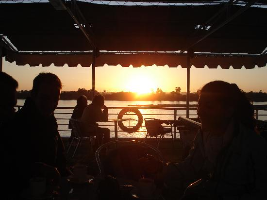 Amarante Isis: sunset on Nile