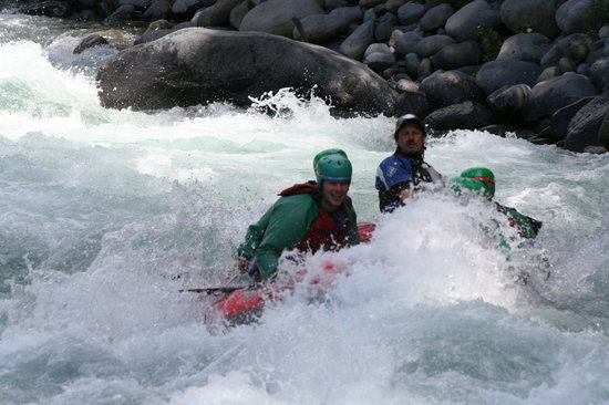 Rafting New Zealand: On the river