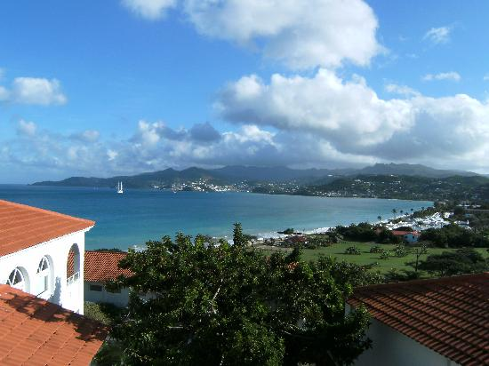 Mount Cinnamon Resort & Beach Club : The view from the balcony.