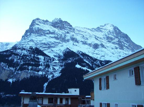 Hotel Hirschen: View from room 37