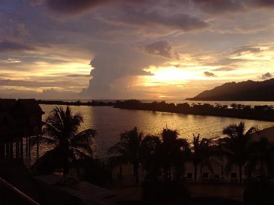 Langkawi Lagoon Resort: vue de la chambre