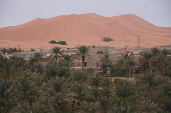 Riad Nezha: View from terrace