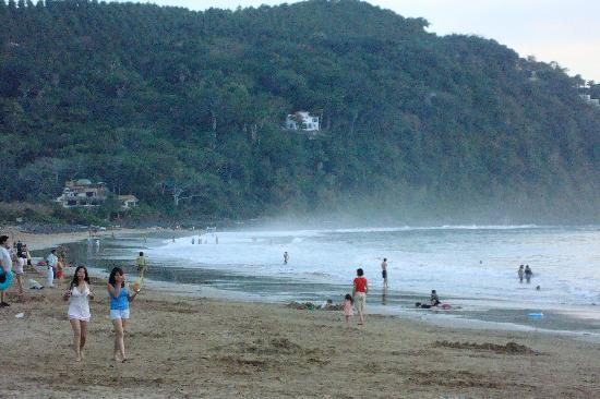Chacala, Mexico: Beach in the morning