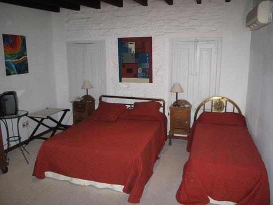 Hotel posada Manuel de lobo: Bedroom