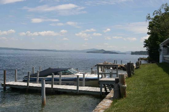 Belknap Point Motel piers/boat docks